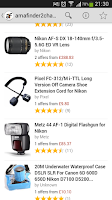 Screenshot of Bargains on Amazon