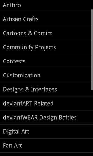 DeviantArt Browser