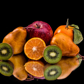 Still Life with Fruit # 3 by Rakesh Syal - Food & Drink Fruits & Vegetables (  )