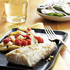Pan-Roasted Grouper with Provençal Vegetables