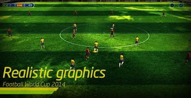 Screenshot of Football World Cup 2014