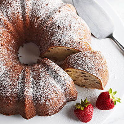 Banana-Nut Pound Cake