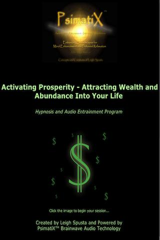 Activating Prosperity Hypnosis