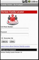 Screenshot of Family Finder (Vz)