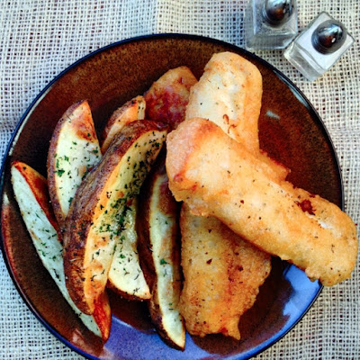 Beer Battered Fish 'N' Chips