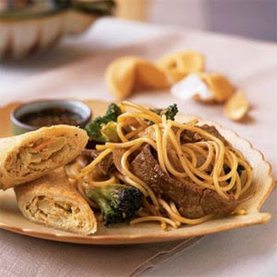 Beef-Broccoli Lo Mein