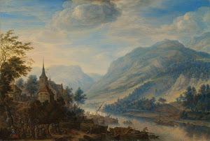 RIJKS: Herman Saftleven: painting 1654