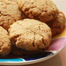 Peanut Butter and Bran Cookies