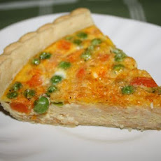 Yummy Autumn Veggie Quiche