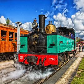 by Antonello Madau - Transportation Trains
