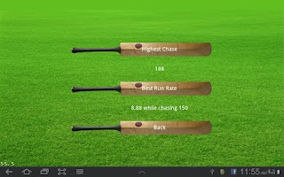 Screenshot of Howzat Cricket 2D