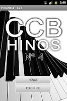 Screenshot of Hinário 4 da CCB - Hinos Free
