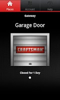 Screenshot of Craftsman Garage Door