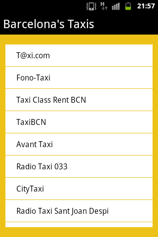 Barcelona's Taxis Free