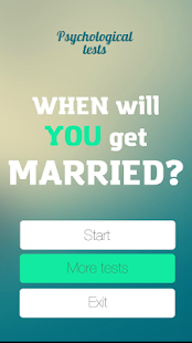 Test on the wedding date- screenshot thumbnail