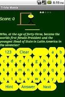 Screenshot of Trivia Mania