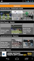Screenshot of Notícias Brasil