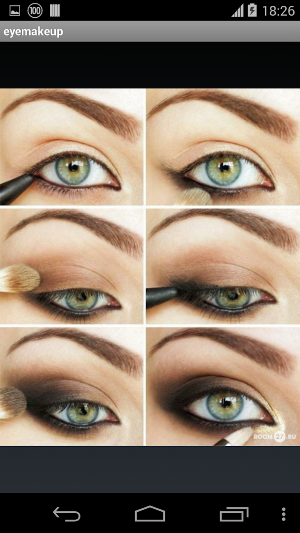 Идеи для макияжа глаз поэтапно