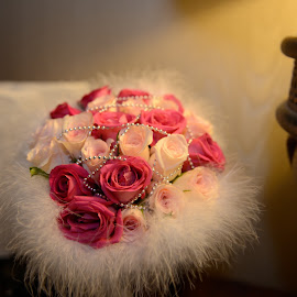 Bouquet Flower by Cris Lhh - Wedding Other ( bouquet, hotel room, wedding, pink, flowers, flower )