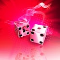 Smoking dice red 480x800 icon