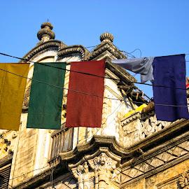 clothe color by Nirav Raval - City,  Street & Park  Street Scenes ( street clothes, clothes, color, vendor, street, color vendor )