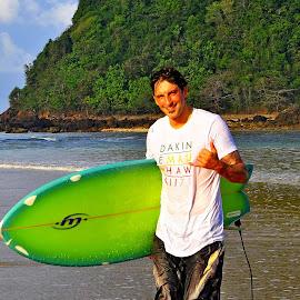 Blaise Rouiller  by Fito Farand Rahmanda - Sports & Fitness Surfing