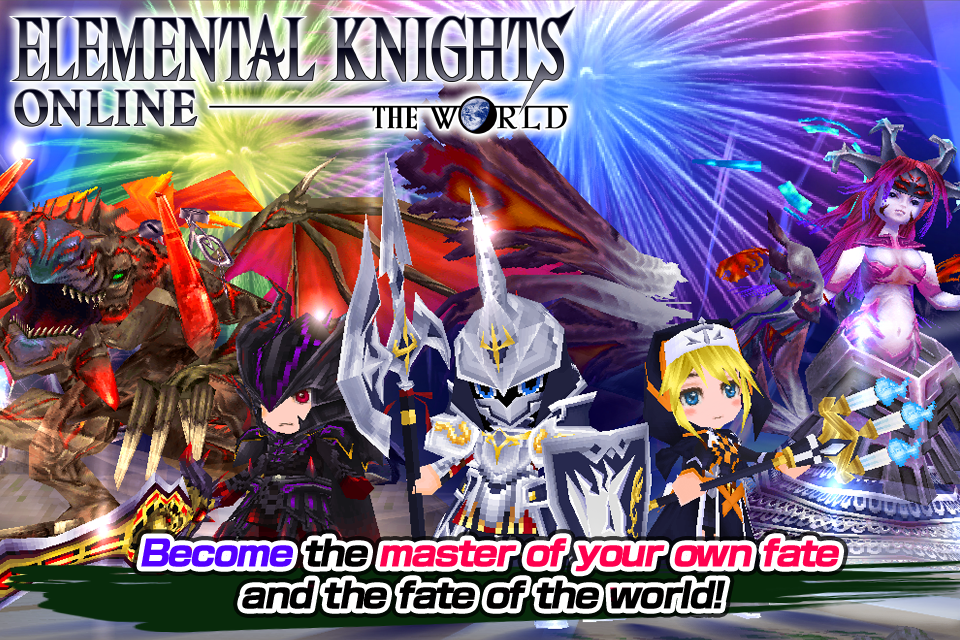 RPG Elemental Knights(3D MMO) Screenshot 4