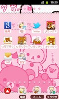 Screenshot of Rilakkuma Theme 2