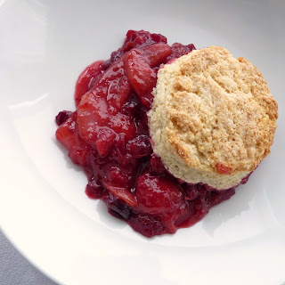 Pear Cranberry Cobbler