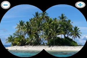 Screenshot of Binocular zooming