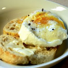 Truffle Poached Eggs & Toast Recipe