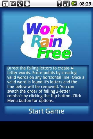 Word Rain Free