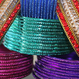 Bangles by Meenakshi Yadav - Artistic Objects Jewelry ( arrangement, jewelery, bangles, accessories, objects )