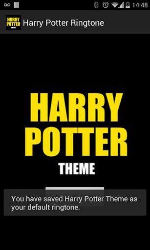 Harry Potter Ringtone - screenshot