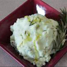 Rosemary , Roasted Garlic, Cheese, Mashed Potatoes