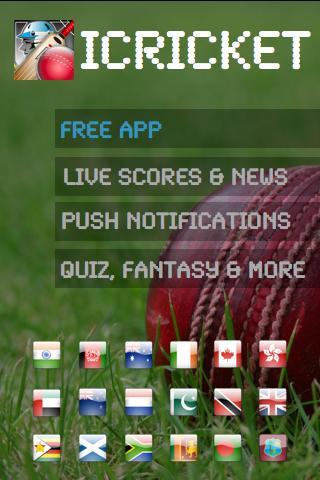 iCricket Cricket Scores Info