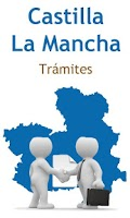 Screenshot of Trámites Cast. La Mancha Free