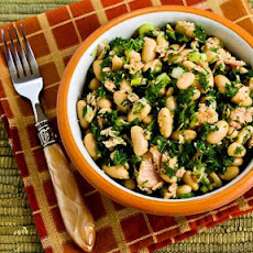 White Bean Salad Recipe with Tuna and Parsley