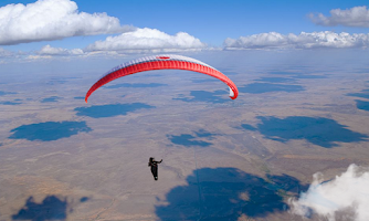 Screenshot of Paragliding Live Wallpaper
