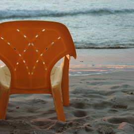 Untitled by Yana Villion - Artistic Objects Furniture ( sand, chair, sea, beach, Chair, Chairs, Sitting )