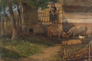 RIJKS: Guillaume Anne van der Brugghen: painting 1891