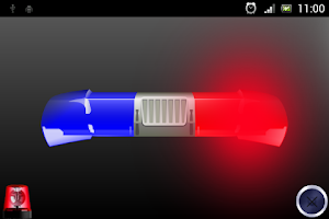 Screenshot of Police Lights and Siren HQ
