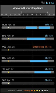 SleepFit  - Alarm & Sleep Log - screenshot