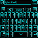 GO Keyboard Blue Tech icon