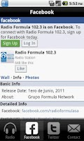 Screenshot of Radio Formula San Antonio