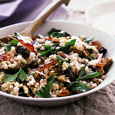 Wheat Berry Salad with Bacon