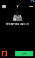 Screenshot of NextTask