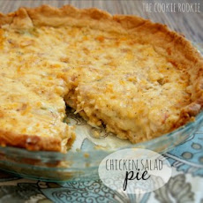 Baked Chicken Salad Pie (or Dip)