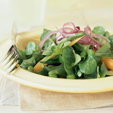 Mâche with Spring Vegetables and Lemon Vinaigrette