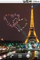 Screenshot of St Valentine Fireworks LWP
